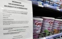 Sữa nhiễm khuẩn salmonella của Pháp ảnh hưởng đến 83 quốc gia