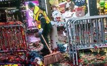 Câu chuyện 50 tấn rác sau màn mừng năm mới ở New York