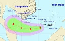 Áp thấp gây gió giật cấp 10, miền Trung tiếp tục mưa lớn, Nam Bộ mát mẻ