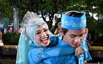 Indonesia làm đám cưới tập thể mừng năm mới 2019