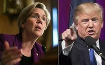 Ông Trump lập tức khiêu chiến nữ ứng viên đua ghế tổng thống 2020