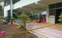 Xả súng tại trường học Thái Lan, 4 người chết