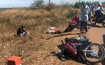 Đụng xe tải bị sự cố, 3 người đi xe máy thiệt mạng
