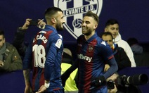 Levante bất ngờ đánh bại Barcelona tại Cúp nhà vua
