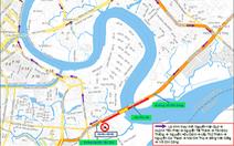 Cấm xe máy qua cầu Phú Mỹ ngày 13-1