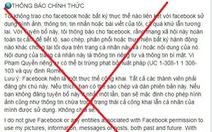 Người dùng Facebook Việt sập bẫy trò lừa đảo