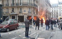 Nổ khí gas trung tâm Paris, ít nhất 4 người chết