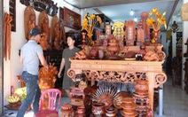 Đồ gỗ mỹ nghệ sôi động mùa tết