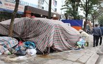 Người dân ngừng chặn xe rác vào khu xử lý chất thải Sóc Sơn - Hà Nội