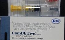 Ba trẻ tử vong sau tiêm ComBE Five, Bộ Y tế vào cuộc