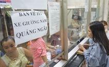 Bến xe Miền Đông còn hơn 81.000 vé xe tết chưa bán