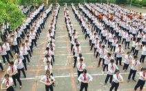 Học sinh sẽ hoạt động thể lực ít nhất 60 phút mỗi ngày