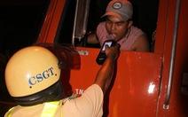 TP.HCM ra quân kiểm tra ma túy người lái xe máy, ô tô