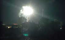 Đốt pháo hoa trái phép ở Phú Quốc