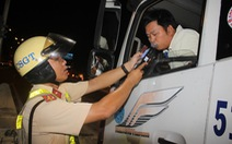 TP.HCM: kiểm tra 3.416 tài xế, không phát hiện ma túy