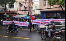 Hàng trăm khách hàng vây công ty bất động sản đòi đất