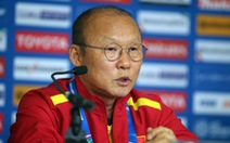 HLV Park Hang Seo: 'Tôi mong đội tuyển VN được vào vòng 16 đội'