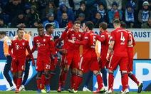 Thắng dễ Hoffenheim, Bayern gây sức ép lên Dortmund
