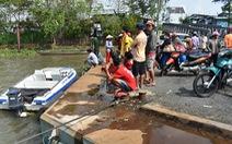Đã tìm thấy thi thể nạn nhân mất tích trên sông Châu Đốc