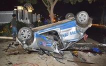 Tài xế taxi có dấu hiệu say rượu tông chết 3 người