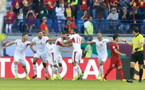 Jordan - Việt Nam (hết hiệp 1) 1-0: Abdulrahman mở tỉ số
