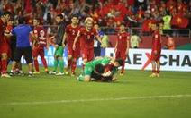 Cầu thủ Việt Nam vui 'nổ' trời sau chiến thắng trước Jordan
