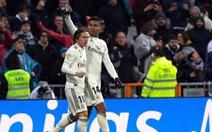 Modric lập công đưa Real Madrid vươn lên xếp thứ 3