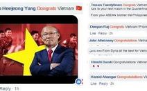 CĐV châu Á chúc mừng Việt Nam, tiếc cho Thái Lan
