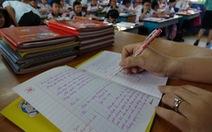 Bộ Giáo dục chấn chỉnh việc lạm dụng hồ sơ, sổ sách trong nhà trường