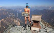 Ngã xuống vực sâu, 'nhà leo núi bikini' Đài Loan tử nạn