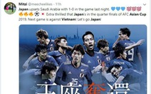 CĐV Nhật 'hào hứng' trước cuộc đối đầu với Việt Nam
