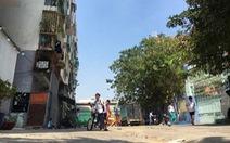 TP.HCM khẩn cấp di dời dân khỏi chung cư bị lún ở quận 1