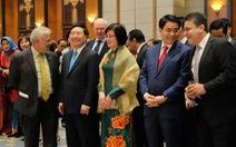 Phó thủ tướng nêu thông điệp hoà bình khi chúc Tết đoàn ngoại giao