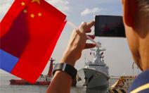 Philippines lần đầu đưa tàu chiến tới Trung Quốc duyệt hạm