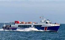 Tàu cao tốc chở khách tông chìm tàu cá, 3 ngư dân thoát chết
