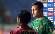 Thủ môn Đặng Văn Lâm: 'Chúng tôi thi đấu với một đối thủ đẳng cấp'