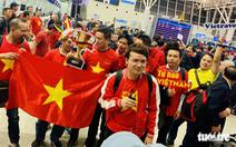 TRỰC TIẾP: Không khí cổ vũ bóng đá từ UAE, TPHCM và nhà các cầu thủ