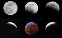 Phát hiện thiên thạch đâm vào Mặt trăng trong quá trình nguyệt thực