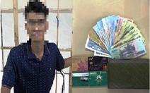 Bắt nghi can nghiện ma túy, nhiễm HIV đi cướp giữa Sài Gòn