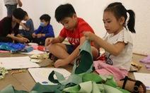 Dạy trẻ sáng tạo với rác sạch