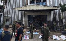 IS nhận đã đánh bom kép thảm khốc ở nhà thờ Philippines