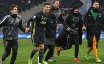 Ronaldo lập công cuối trận, Juventus thắng nhọc Lazio