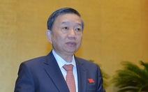 Bộ trưởng Tô Lâm được thăng quân hàm Đại tướng Công an