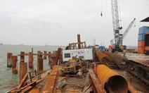 Nhận chìm vật chất ở Quảng Ngãi do tiến độ quá gấp