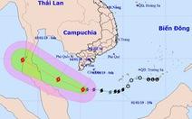 Bão số 1 mạnh thêm, Nam Bộ đối mặt dông, lốc xoáy