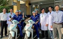 TP.HCM có thêm Bệnh viện quận 2 cấp cứu bằng xe hai bánh