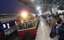 33 đoàn tàu tết từ ga Sài Gòn chậm giờ sau sự cố trật bánh
