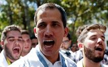 Nghị viện châu Âu công nhận Guaido là 'tổng thống lâm thời' Venezuela