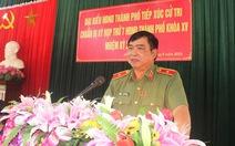 Thiếu tướng Đỗ Hữu Ca thôi chức giám đốc Công an TP Hải Phòng