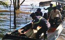 Đã tìm thấy thi thể 3 nạn nhân vụ chìm sà lan trên sông Tiền